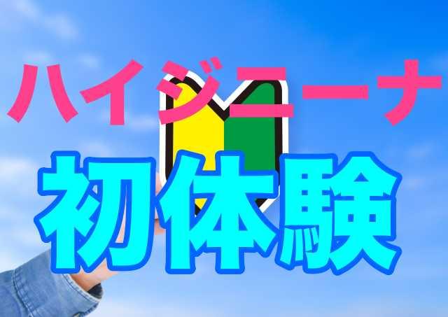 ハイジニーナ経験談